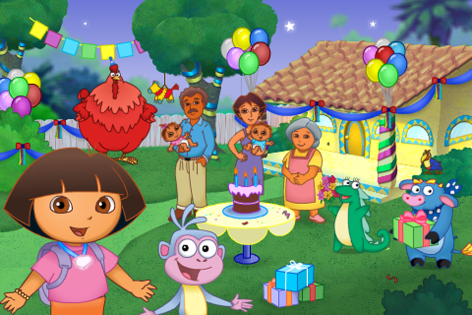 Screenshot Dora's Big Birthday Adventure